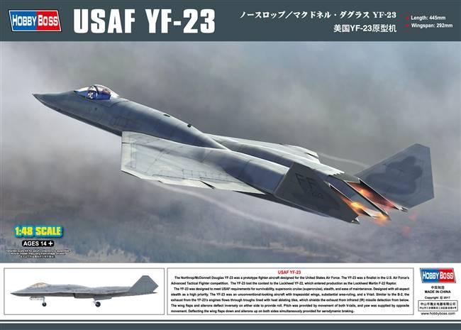 YF-23 - Italeri Kit 1/72 scale   IPMS (UK) Members Forum